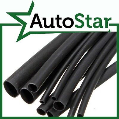 PVC Cable Sleeve - ALL SIZES (Black, Flexible Wiring Tubing / Sleeving / Tube)