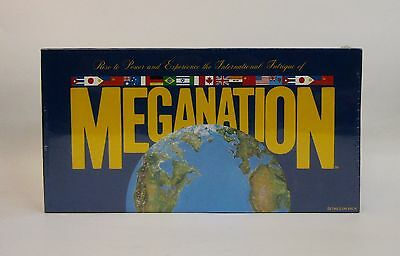 * Rare * Meganation Board Game Of Empires * New Old Stock * Factory Sealed *