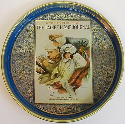 Vintage Replica * Ladies Home Journal * 1914 Advertising Tray * Harrison Fisher