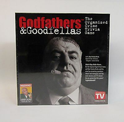 * Godfathers & Goodfellas * Organized Crime Game * NOS Factory Sealed *