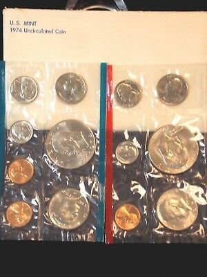 1974 United States U.S. Mint Uncirculated Set (13 Coin Set)   ECC&C, Inc.