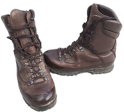 Karrimor Sf Goretex Cold Weather Brown Combat Patrol Boots British Army Surplus