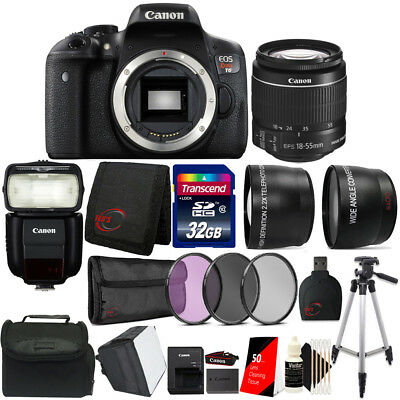 Canon EOS Rebel T6 w/ EF-S 18-55mm f/3.5-5.6 IS II Lens , 430EX Flash and Kit