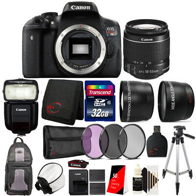 Canon EOS Rebel T6 with EF-S 18-55mm f/3.5-5.6 IS II Lens , 430EX Flash and Kit