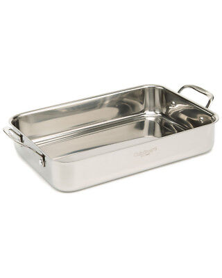 """Cuisinart """"Chef's Classic"""" 14In Lasagna Pan With Roasting Rack"""