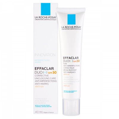 La Roche Posay Effaclar Duo (+) SPF30 40ml GENUINE & NEW