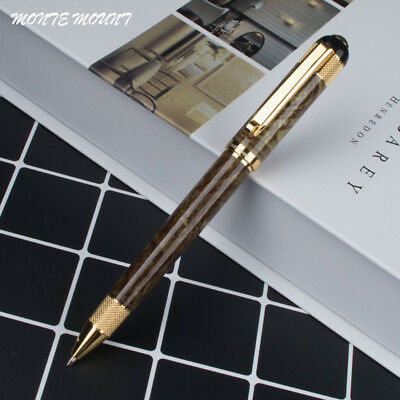 MONTE MOUNT Green pattern Gold  Luxury Business Writing Gift Pens