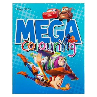 Licensed Disney Pixar Cars Toy Story Mega Colouring Book - 96 Pages To Colour