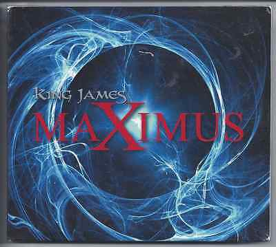 King James-Maximus CD Christian Rock/Metal Rex Carroll  Brand New-Factory Sealed