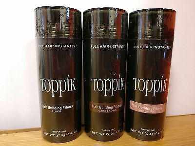TOPPIK Hair Building Fibers 27.5g - Buy 3 Get 2 Free (ADD 5 TO BASKET)