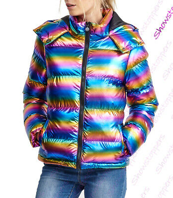 NEW GIRLS JACKET PADDED COAT Quilted HOODED PARKA SCHOOL AGE 7 8 9 10 11 12 13