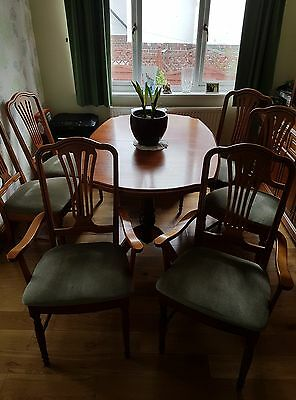 Queen Anne Reproduction Dining Set, Display & Corner,Hifi & Entertainment units