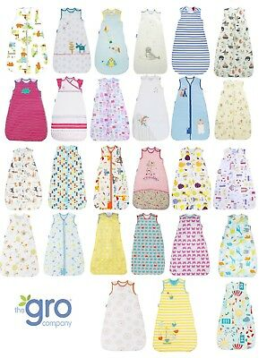Grobag Baby Sleeping Bag - all togs -  0 6 18 36 months, 3-6 & 6-10 Years