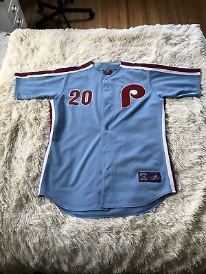 online store 0e531 f6438 MLB MAJESTIC COOPERSTOWN Collection Mike Schmidt Throwback Phillies Jersey.