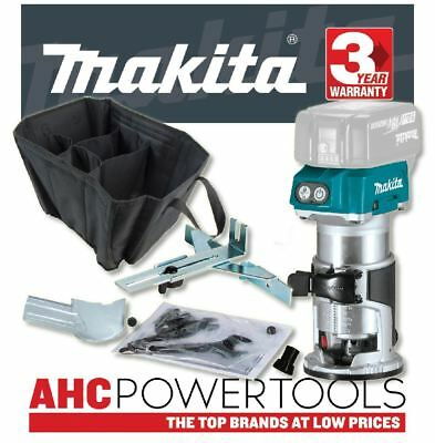 Makita DRT50Z Router/Trimmer 18V Cordless Brushless - Body Only