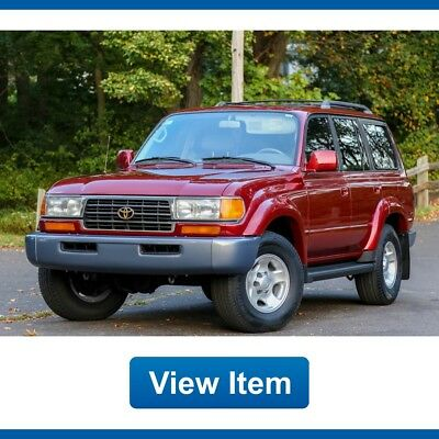 1997 Toyota Land Cruiser Base Sport Utility 4-Door 1997 Toyota Land Cruiser Servcd 4WD FJ80 3rd Row Seat CARFAX Southern!