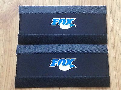 2 x NEOPRENE BICYCLE ACCESSORIES BIKE CHAIN STAY FRAME PROTECTOR FOR FOX