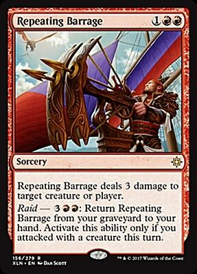 Repeating Barrage foil MTG IXALAN