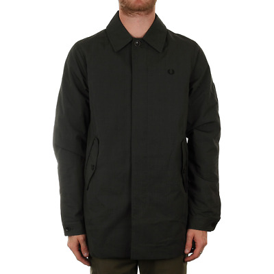 FRED PERRY PRINCE Of Wales Caban Mac Graphite £161.10