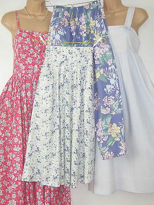 LAURA ASHLEY VINTAGE 4 x VARIOUS * BUNDLE * FLAWED CLEAR OUT STOCK * 8/10/Small