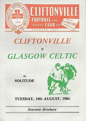Aug 84 Cliftonville v Celtic