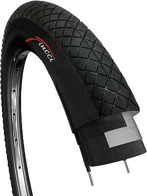 Pair of Fincci Road Hybrid Bicycle Bike Inner Tube 700 x 35 38 c 48mm Schrader