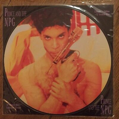 "Prince - Money Don't Matter 2 Nite - UK 12"" Picture Disc Limited Edition Vinyl"
