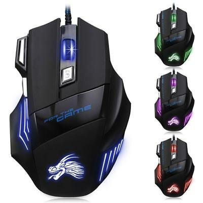 ★★★ X3 USB Wired Optical Gaming Mouse  -  BLACK ★★★