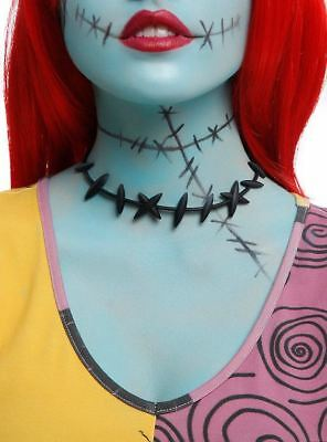 Disney The Nightmare Before Christmas Sally Cosplay Stitches Choker Necklace New