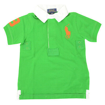 NWT Ralph Lauren Polo Boay T Shirt Top Pony  Size 24M Green $58