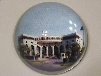 Dhahran Saudi Arabia International Hotel Paperweight Souvenir