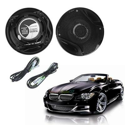 2pcs 4inch 250W Coaxial Full Frequency Car Speaker Refitting Speakers with Wires