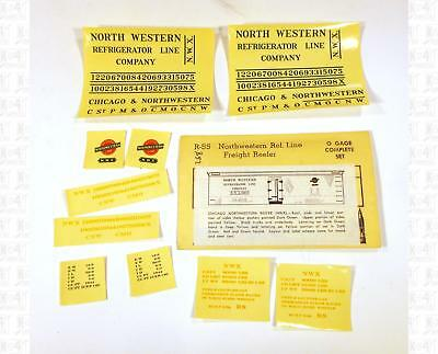 Champ O Decals Chicago and North Western Ice Reefer Black R-55