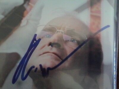 Robin Williams Autographed Dvd