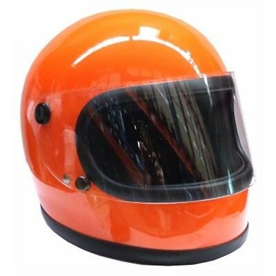 Redbike RB-74 Retro Helm DDR Helm Gr.XK orange