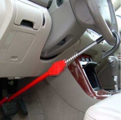 Steering Wheel Lock To Pedal The Club Car Theft Truck Suv Auto Van Universal New