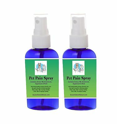 Arnica 1M For Pets - Natural Pain Relief For Dogs and Cats - Pet Pain Spray