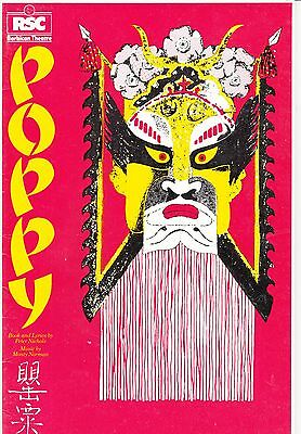 "1982 Barbican London Theatre Programme - ""POPPY"" RSC Production"