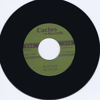THE GEE CEES - BUZZ SAW b/w THE CHAMPS - SOMBRERO - 2 HOT INSTRUMENTAL JIVERS