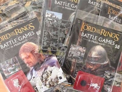 GW LOTR Battle Games In Middle Earth Issue Single Issues *NEW & SEALED*