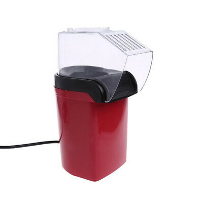 1Pcs Automatic Mini health Household Machine Electric Red Children Popcorn Maker