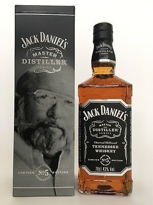 Jack daniels daniel's Master Distiller No. 5 full & sealed 70 cl whisky bottle