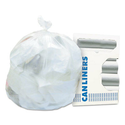 High-Density Coreless Can Liner, 16 gal, 24 x 33, Natural, 50 Bag/RL, 20 RL/CT