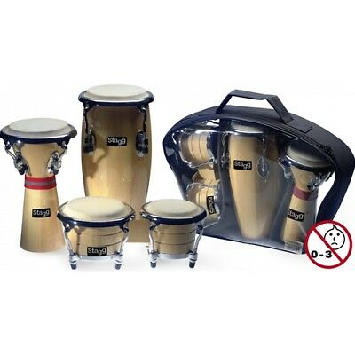 Stagg Mini Latin and African Percussion Package