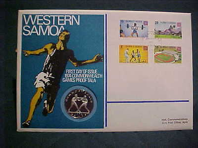 1974  Hutt Comm.commonwealth Games Uncirculated Western Samoa Pnc 97A (12 Of80)
