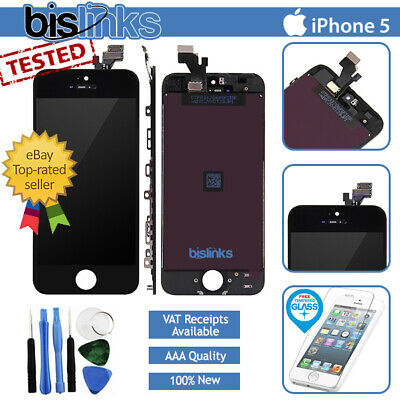 For iPhone 5 Black Full LCD Display Touch Screen Digitizer Assembly Replacement