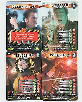 Magna Clamp, 10th Ghostbusting, Space Explorer, Jack in Chains - Doctor Who BIT