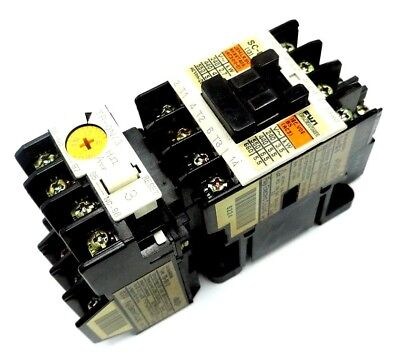 New Fuji Electric Sc-0 Contactor W/ Tr-0N/3 Overload Relay & Sz-Z5 Suppressor