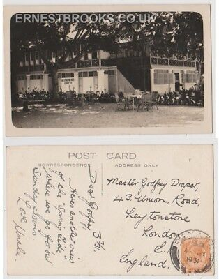 Early Postcard, Malaysia, Penang, New Springtide Hotel, Annexe, 1931, RP