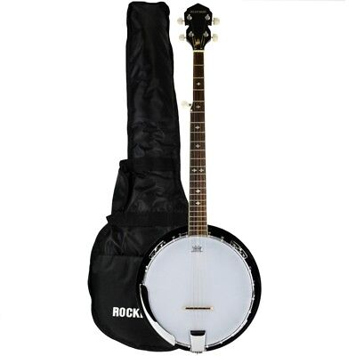 Rocket Deluxe Western 5 String Banjo with Gig Bag